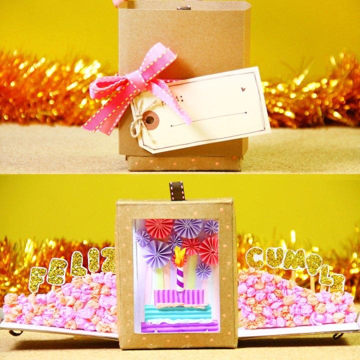 Caja de cumpleaños: Happy Box