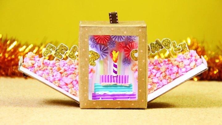 caja cumpleañera idea para regalo