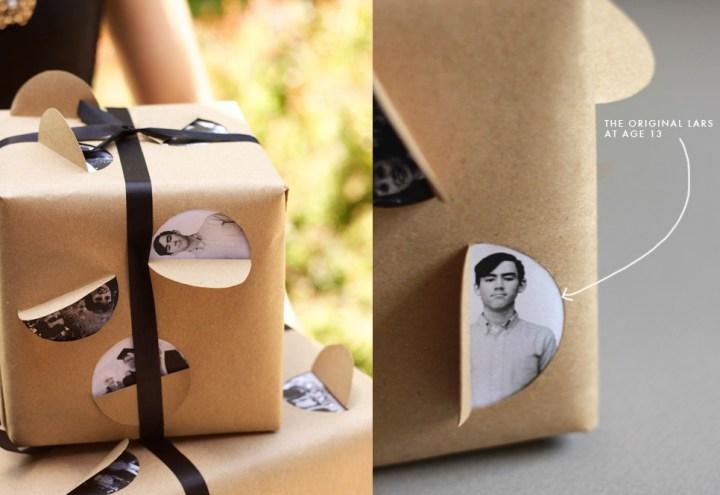 como envolver regalos con papel kraft
