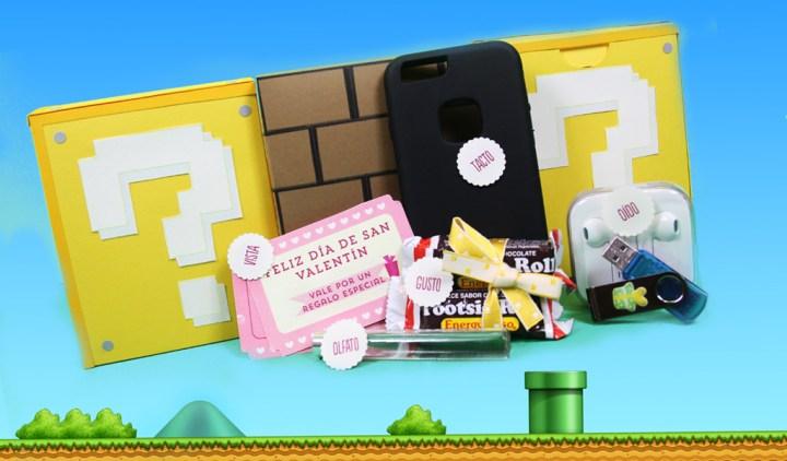 Caja de los sentidos inspirada en Mario Bros