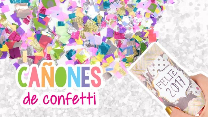 Cañones de confeti | Confetti cannons
