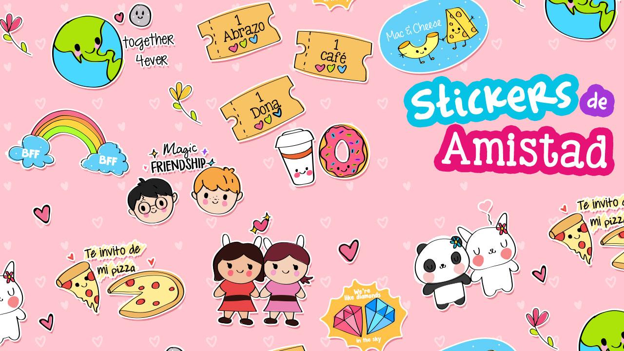 Stickers de Amistad