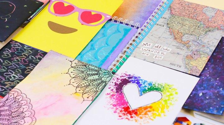 decorar tus cuadernos