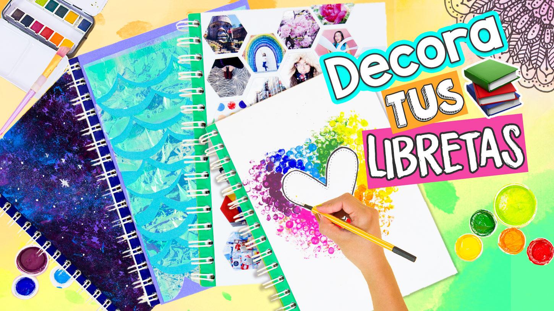 Las Mejores 16 Ideas Para Decorar Tus Cuadernos Craftingeek
