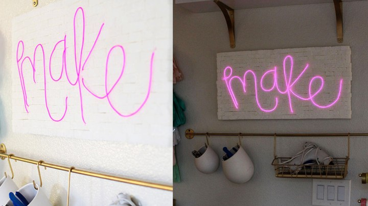 pink neon signs