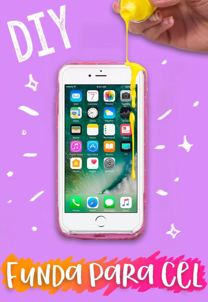 destroza de manera creativa tu funda para celular
