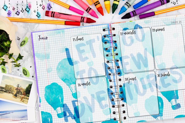 semana crafty planner 2018