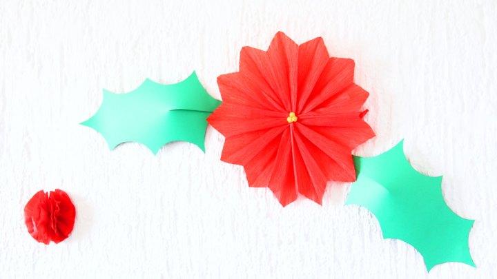 decoraciones-de-navidad-nochebuena-hojas