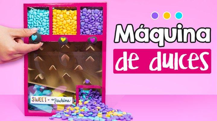 maquina dispensadora de dulces