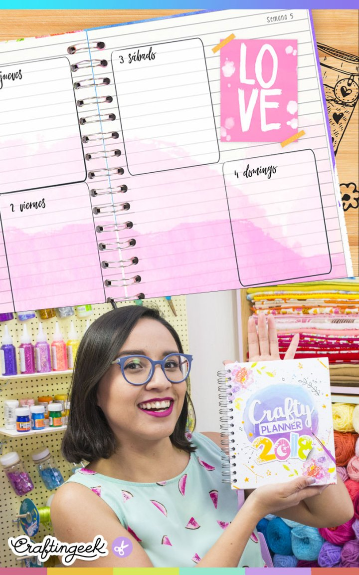 metodo de organizacion crafty planner