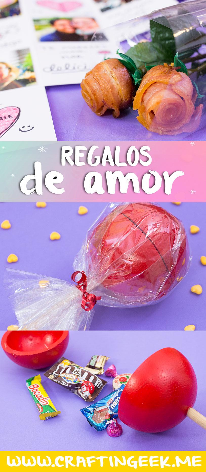Regalos para San Valentin 3 ideas con $100 ~ Craftingeek