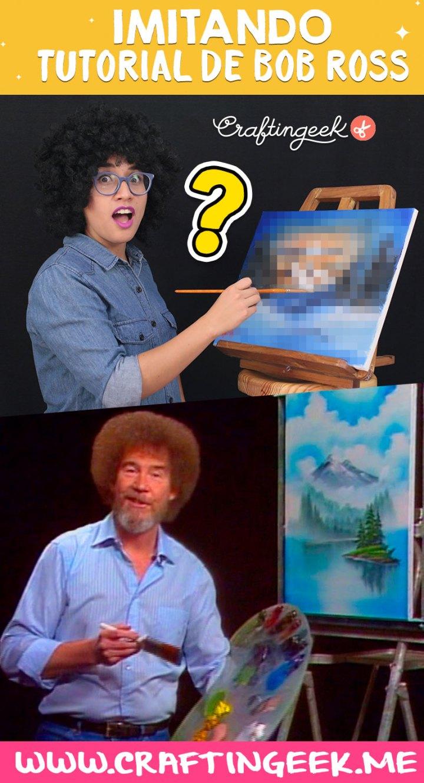 Como pintar como bob ross
