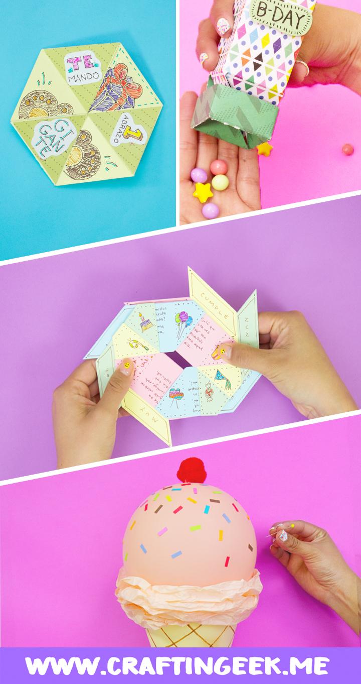 Estas son 4 ideas para regalo de cumpleaños te sacarán de un apuro // These are 4 ideas for birthday gift.