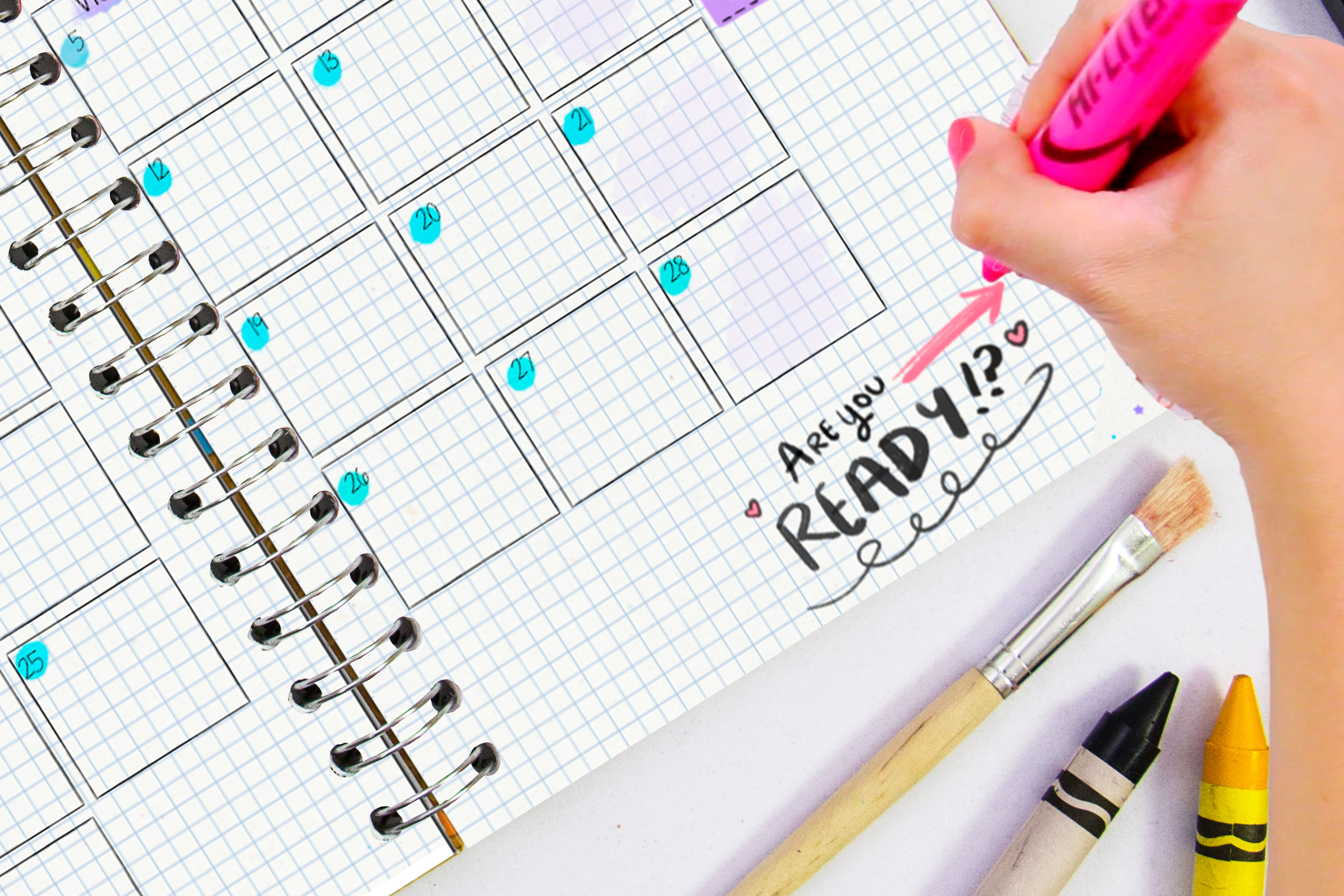 Are you ready? Empieza el año con tu Crafty Planner