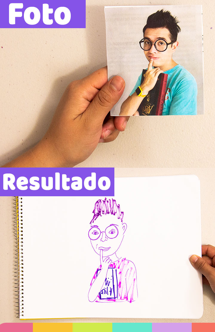 Dibuje a Ami Rodríguez con mis materiales morados y esto fue lo que sucedió | I drew Ami Rodríguez with my purple markers and this happened.