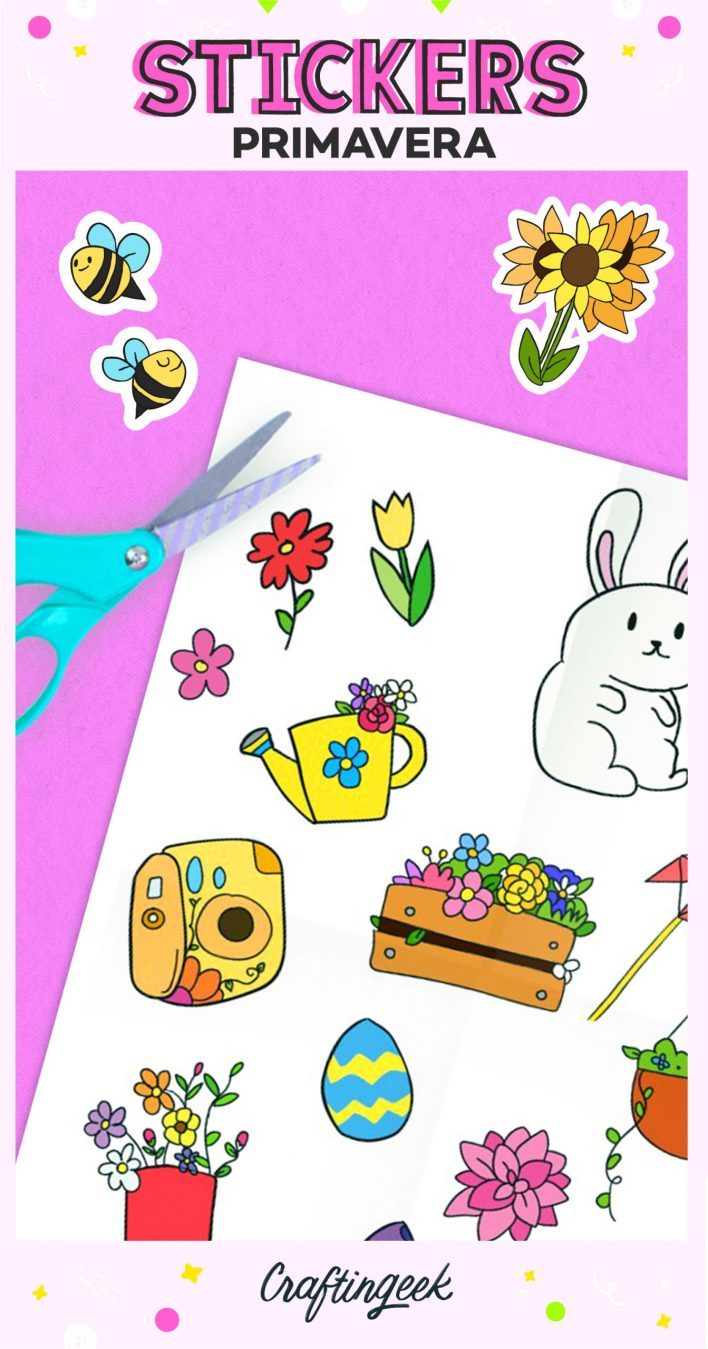 Stickers de primavera