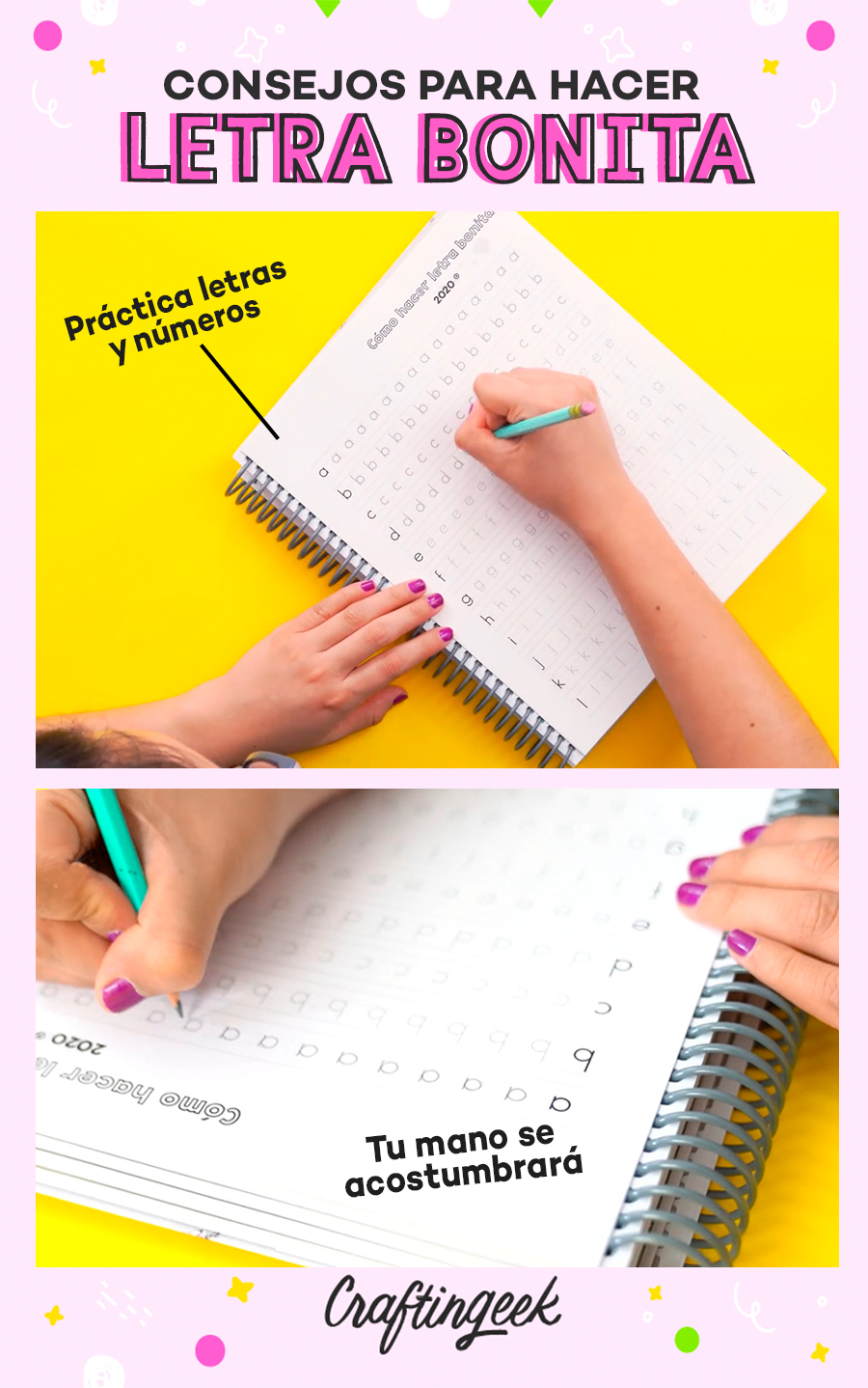 Consejos para mejorar tu letra: práctica letras y números