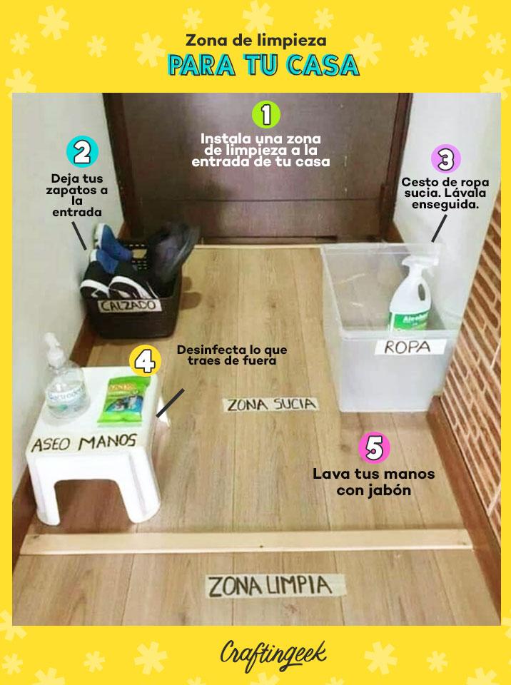 Como desinfectar la casa de virus y bacterias