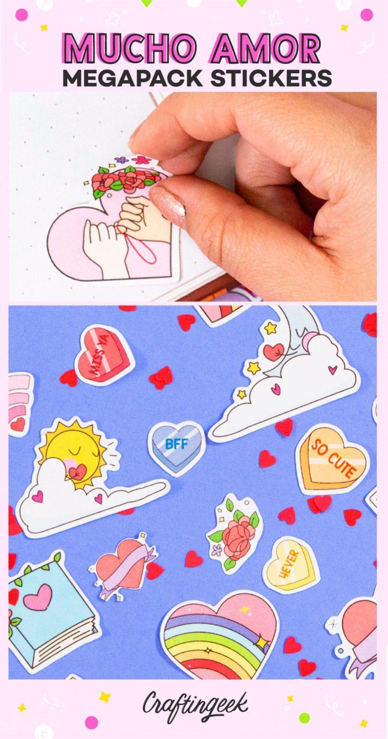 Stickers Mucho Amor_Portada