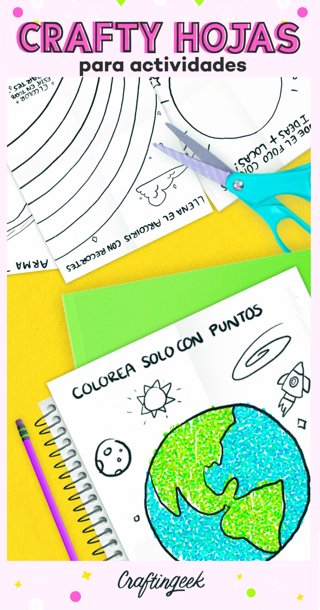 Inspira tu creatividad con las Crafty Hojas.