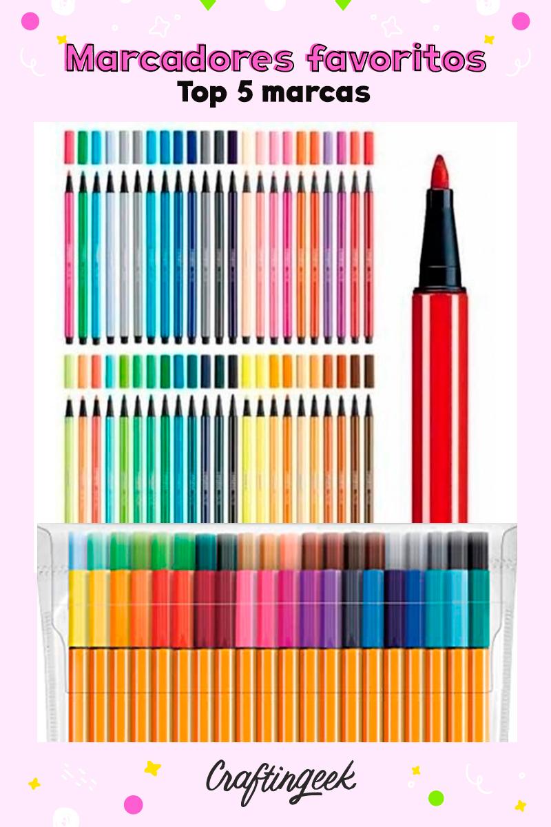 Estos son mis marcadores favoritos