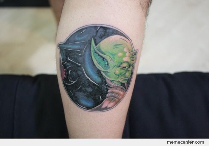 polos opuestos tatuajes para parejas star wars
