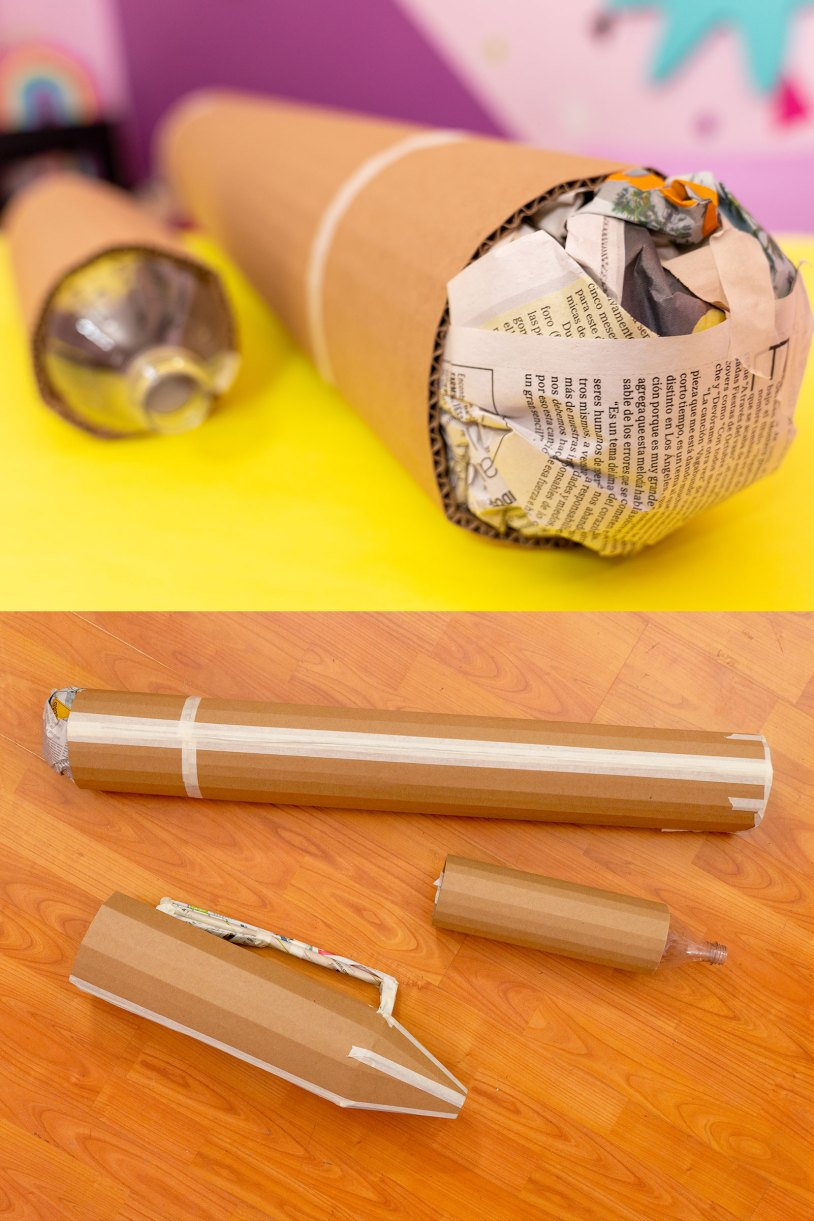 Como hacer un marcador gigante_Masking Tape