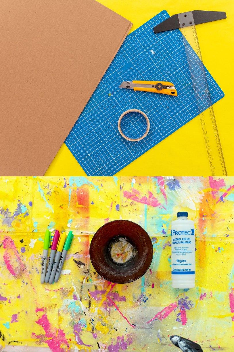 Como hacer un marcador gigante_Usa carton