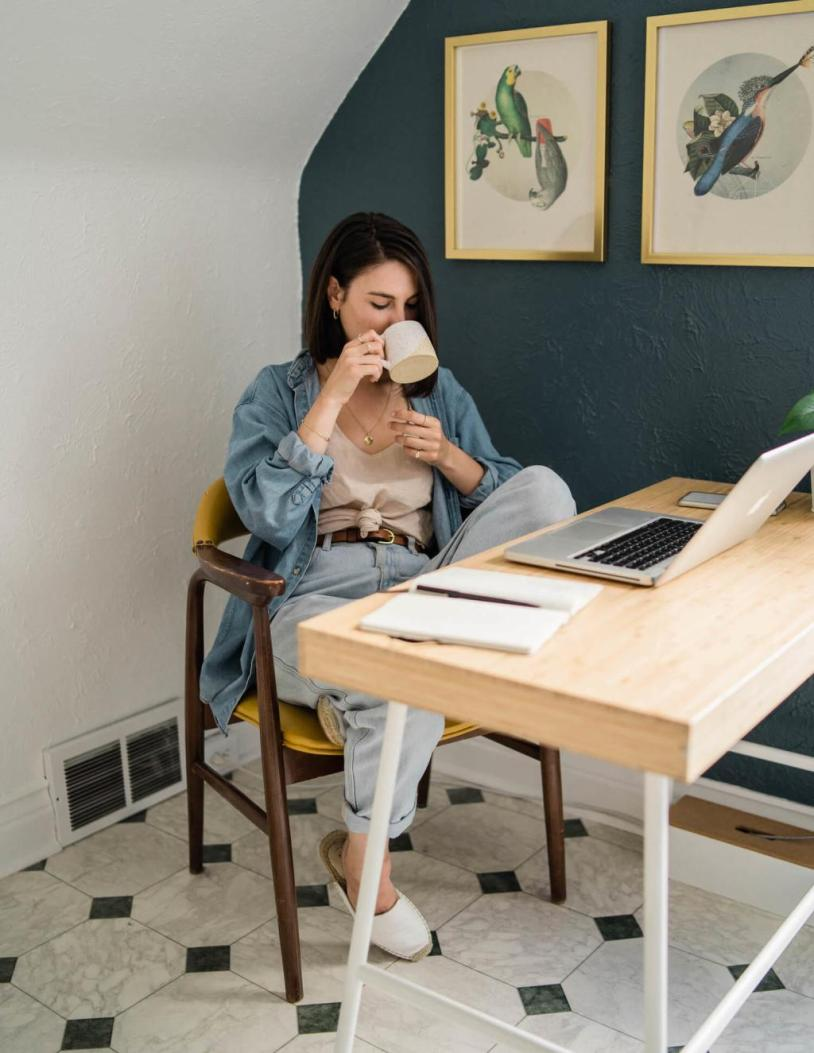 outfits creativos para home office