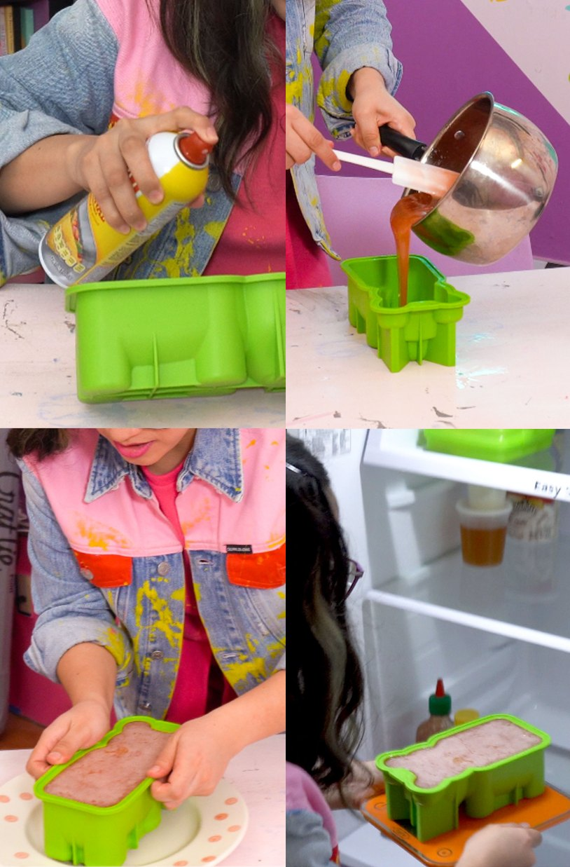 Como hacer un osito de gomita gigante_Engrasa