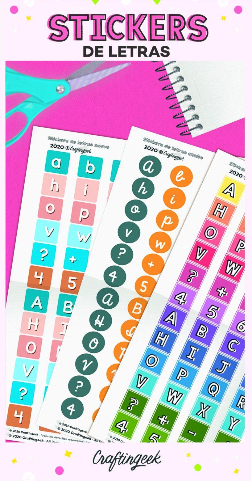 Stickers de letras_Portada