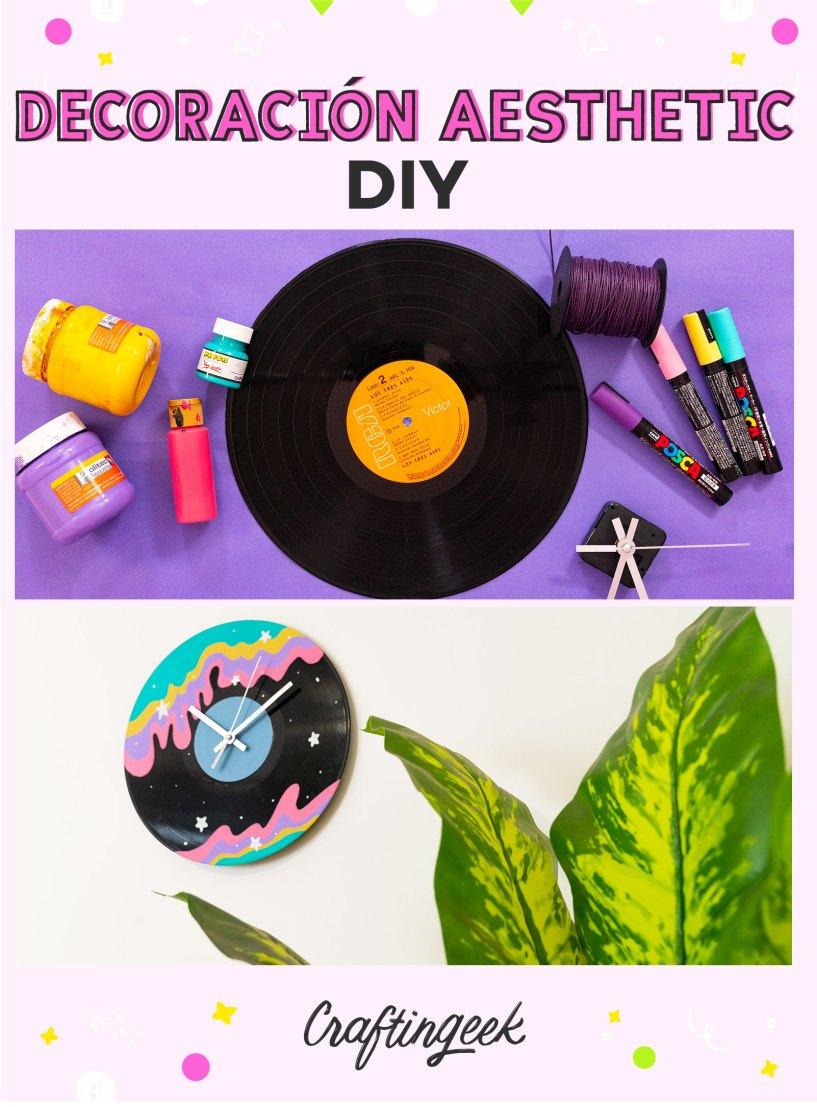 Ideas Aesthetic para tu cuarto_Reloj