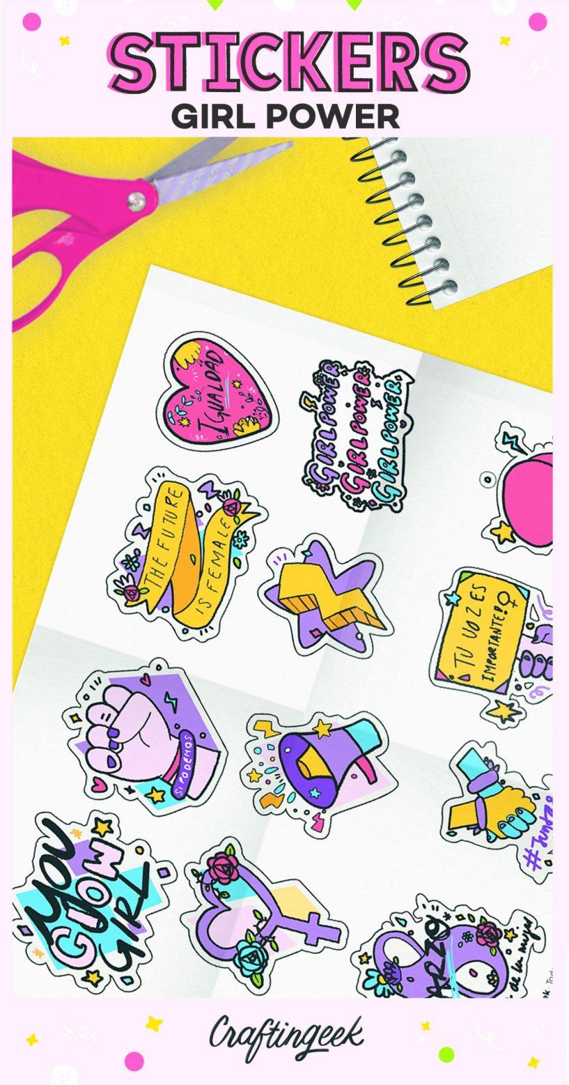 Stickers Girl Power_Portada