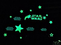 Star Wars Glow in the Dark Decals | Crafting in the Rain