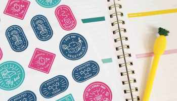Make Cricut Stickers with your Own Images - Crafting in the Rain