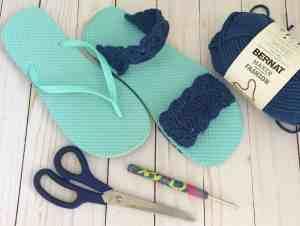 Free Flip Flop Crochet Pattern