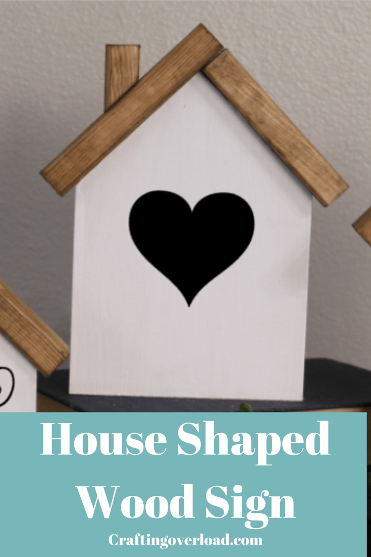 House Shaped Sign Tutorial