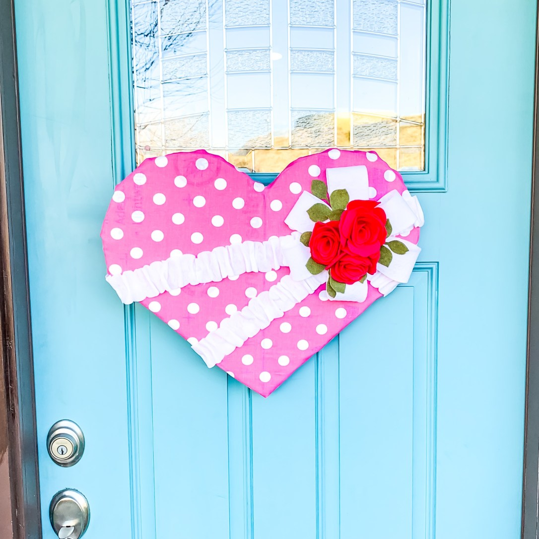 Valentine Door Hanger Tutorial
