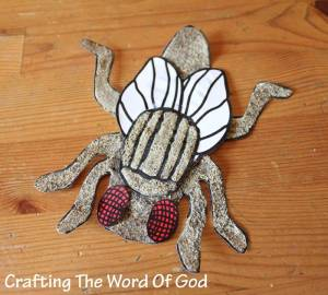 The Plague Of Flies Crafting The Word Of God