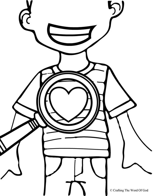 God Searches Our Hearts- Coloring Page « Crafting The Word