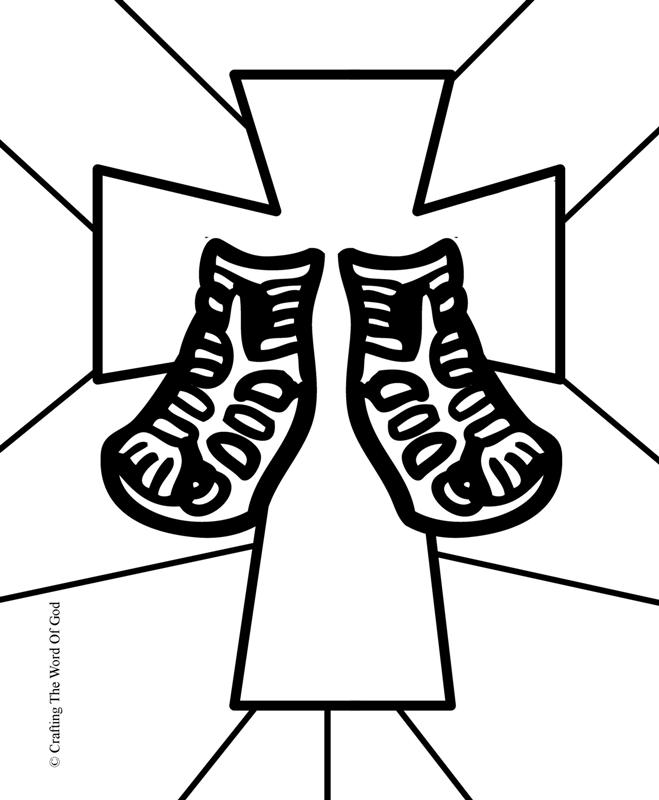 sandals of peace « Crafting The Word Of God
