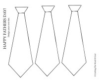 Design Your Own Ties- Activity Sheet  Crafting The Word ...