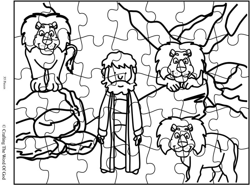Daniel In The Lions Den- Activity Sheet « Crafting The