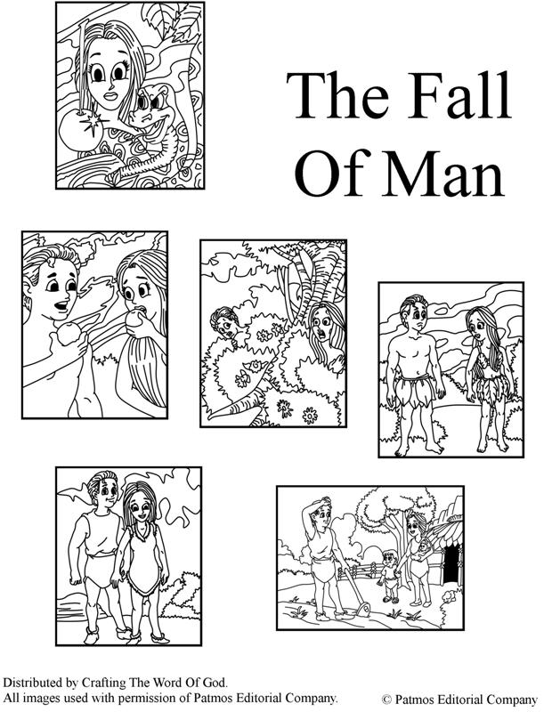 The Fall Of Man- Coloring Pages « Crafting The Word Of God