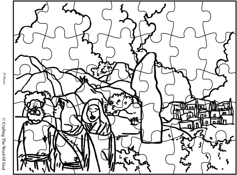 Lots Wife Puzzle- Activity Sheet « Crafting The Word Of God