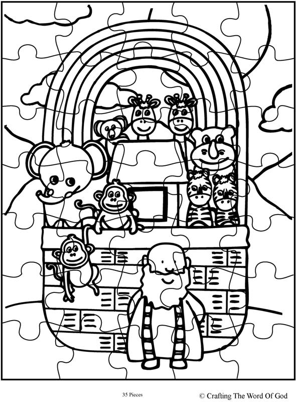Noahs Ark Puzzle- Activity Sheet « Crafting The Word Of God