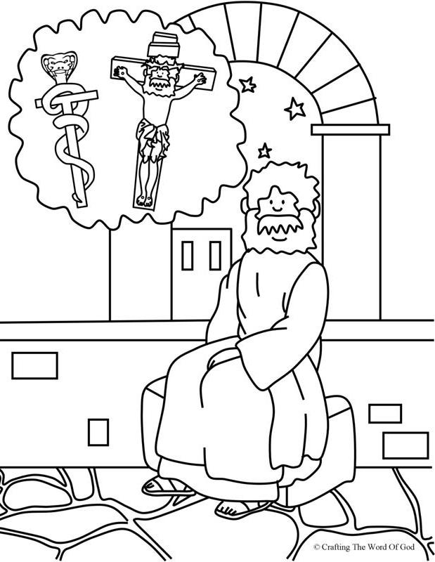 Nicodemus 2- Coloring Page « Crafting The Word Of God