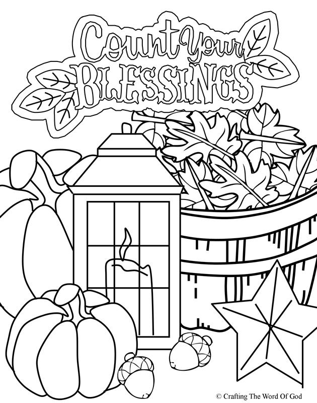 Thanksgiving Coloring Page 5- Coloring Page « Crafting The