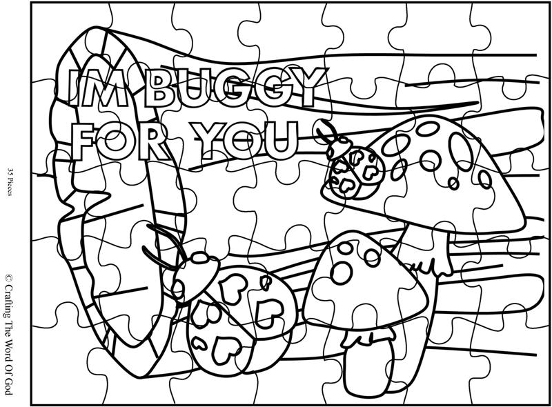 Im Buggy For You 2 Puzzle- Activity Page « Crafting The