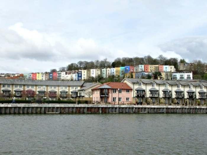 Sailing around Bristol Harbour